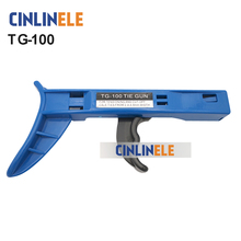 Cable Tie Run TG-100 Cable Tie Fastening Tools Cable Tie Shackle Tools 2.4-4.8mm Cable tie tool plier