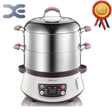 8-10L 220V Electric Steamer Steamed Steamer Food Warmer Bun Warmer Cooking Appliances