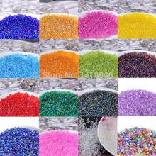 3mm 1000pcs 17 AB colors Czech Glass Seed beads,crystal spacer beads For Jewelry handmade DIY BL004-3X