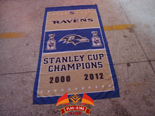 Free shipping NFL 3'x5' Baltimore Ravens flag, 90x150cm Baltimore Ravens rugby football banners