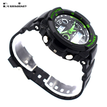 Bounabay waterproof watches for men original man automatic watchs esportivo mens brand digitales watch military clock cheap saat(China)