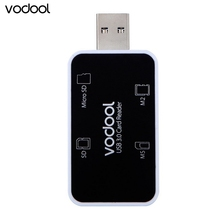 Original Brand Vodool 4in1 USB 3.0 Multi Digital Memory Card Reader Adapter Connector For Micro SD/TF MS M2 Memory Stick(China)