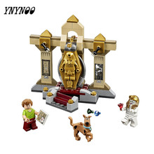 YNYNOO High Quality Scooby-Doo 10428 Mummy Museum Stery Building Block Model Kits Scooby Doo Dog Blocks Toys  BL015