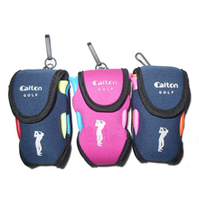 Golf Bag Golf ball small waist pack small bags, can hold two balls accessories, golf ball, golf tees Three colors free shipping(China)