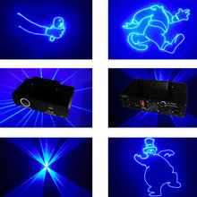 New product dj equipment 500mW blue laser dj mix for disco part show(China)