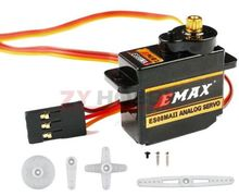 1pc EMAX ES08MA II Mini Plastic Gear Analog Servo High Efficiency Big Stall Torque