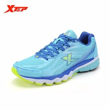 XTEP Brand 2016 Wholesale Running Shoes for Men Sports Shoes Air Mesh Men's Sneakers Trainer Outdoor Athletic Shoes 984219119512(China)