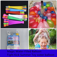 111pcs/3bunch Water Balloon Magic Water-Filled Balloon Fight Kick Summer Toys for Kids Water War Bombs Party Accessories Decor