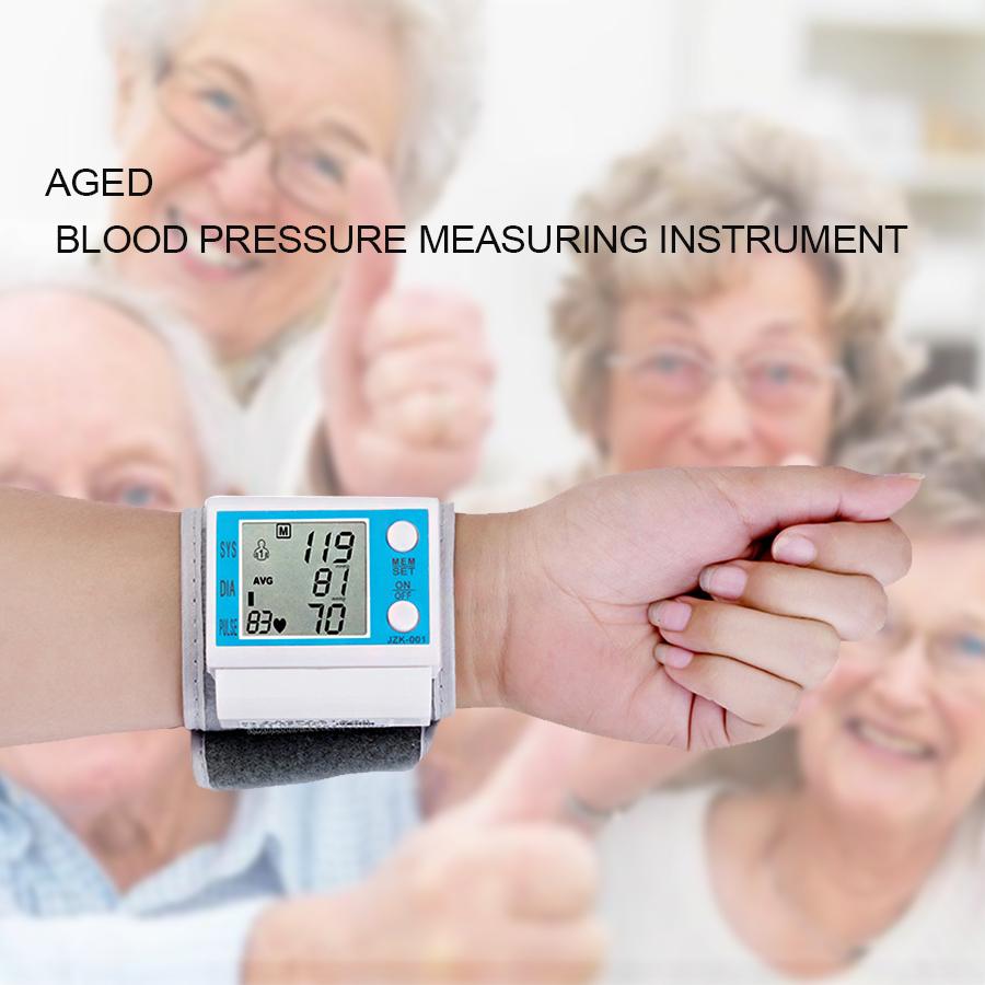 Household intelligent Electronic Upper Arm blood pressure monitor Digital LCD sphygmomanometer Health Care 1