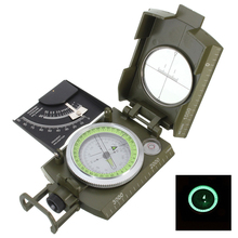 Hot New Professional Military Army Metal Sighting Compass clinometer Camping