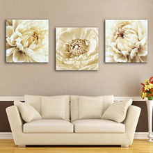 HD Oil Painting Flower Decoration Painting Set of 3 Home Decor On Canvas Modern Wall Art Canvas Print Poster Canvas Painting