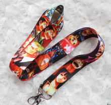 Small  Wholesale New 10pcs Japanese anime One Piece Neck Strap Lanyard MP3/4 cell phone/ keychains  free shipping  C-40