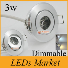 high power 3w mini led ceiling downlight led recessed spot lights dimmable led exhibition lamp display light 90-260v 30/60angle