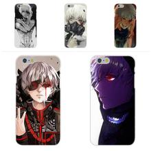 For Apple iPhone 4 4S 5 5C SE 6 6S 7 7S Plus 4.7 5.5 Soft TPU Silicon Case Accessories Kaneki Ken Tokyo Ghoul