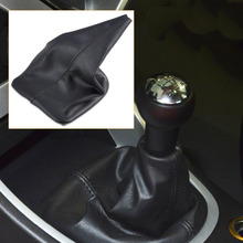 CITALL For PEUGEOT 307 2001 2002 2003 2004 2005 2006 2007 2008 New Black High Grade PU Leather Gear Cover Gaiter