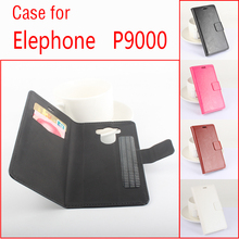 Elephone P9000 leather case Luxury case With Credit Card Slots Protector Cover Flip Cover for Elephone P 9000 mobile Phone