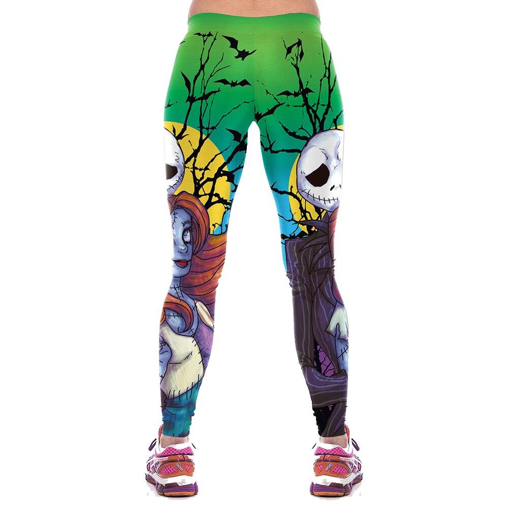 NADANBAO Halloween Print Fitness Leggins 23