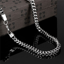 Personalized Men's Jewelry 316L stainless steel chain necklace length 50CM cool street style Top quality Factory Outlet