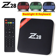 Z28 Android 7.1 Smart TV Box Rockchip RK3328 Quad core Cortex A53 2GB 16G Android TV Box H265 4K 2K USB 3.0 WiFi Media Player