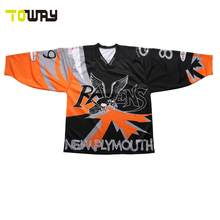 2017 new design custom hockey jersey(China)
