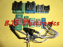 TL866CS TL866A EZP2010 9adapters+1Test Clip+1Extraction tool Flash EPROM Programmer adapters