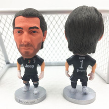 Soccerwe Fixed Base Goalkeeper 1 Buffon Doll ( Juv 2018 Season) Black Kit(China)