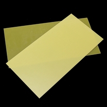 300x150mm DIY Yellow Epoxy Glass Fibreglass Sheet Template Board For FR4 Glass Fiber For Home DIY Craft Supplies