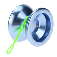 3 Colors Magic Yoyo T5 Overlord Aluminum Alloy Metal Yoyo Professional 8 Ball KK Bearing with String Kids Toys Yoyo for Gift