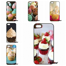 For iPhone 4 4S 5 5C SE 6 6S 7 Plus Galaxy J5 J3 A5 A3 2016 S5 S7 S6 Edge Chocolate Nutella Cupcakes Phone Case Cover Capa