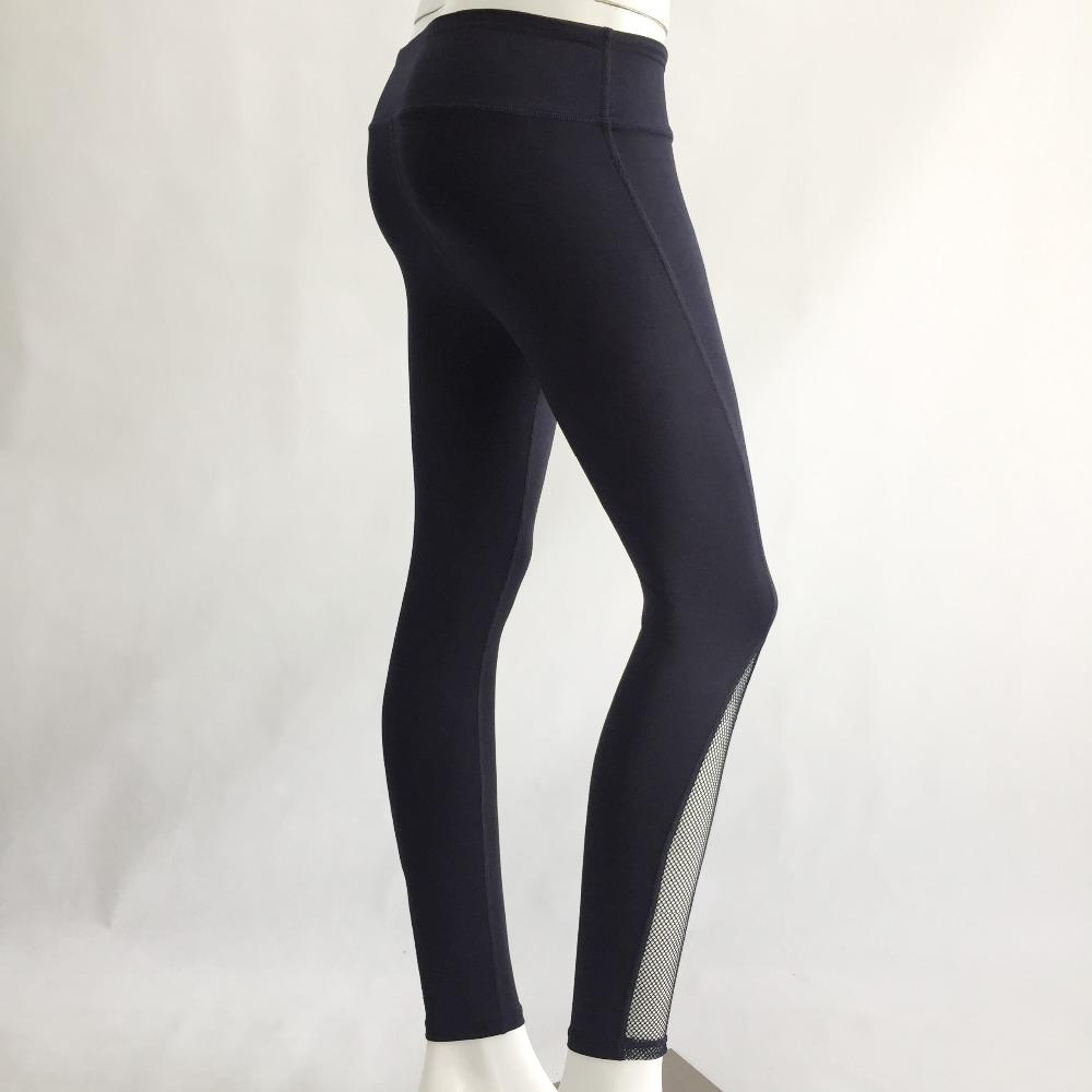 New Women Push-up Sporting Leggings Black Fashion Net Hollow Elastic Skinny Fitness Leggings Sporting Clothing For Women 24