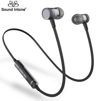 Sound Intone Picun H6 Dans L'oreille Sans Fil Bluetooth Écouteurs Courir Sport avec Mic Casques Appels Gratuits pour iPhone Xiaomi Android