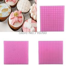 Small and Big Grid Texture Mat Woven Bag Fondant Mold Cupcake Mold Silicone Sugar Mold Cake Decoration Mold