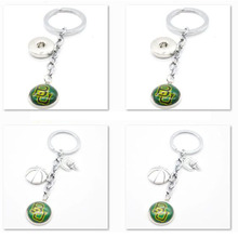 2017 New Basketball Keychain NCAA Baylor Bears Charm Key Chain Car Keyring for Women Men Party Birthday Keyrings G(China)