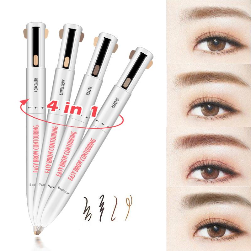 4 In 1 Easy Long Wear Waterproof Eyebrow Pencil