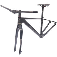"Buy 2017 FCFB mtb frame mtb bike frame carbon mountain carbon frame 29er*15.5"" 17/19inch carbon handlebar seatpost stem saddle for $315.00 in AliExpress store"