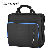 VBESTLIFE  for PS4 Pro Game System Portable Shoulder Bag Travel Carrying Black Color Storage Case for PS4 Pro Console