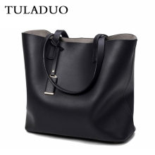 TULADUO Large Vintage Bag Luxury Brand Woman Leather Handbag Casual Handbags Ladies Totes Bolsas Femininas Desinger  Sac a Main
