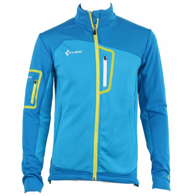 SAENSHING Thermal Cycling Jacket Men Cube Breathable Windproof Cycle Jacket Anti-sweat Cycling MTB Jersey Male Bike Clothing<br>