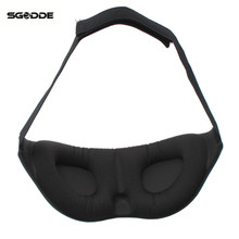 3D Memory Foam Padded Shade Cover Travel Rest Sleep EyeMask Eyeshade Sleeping Blindfold Eyepatch Aid Relax outdoor travel tools(China)