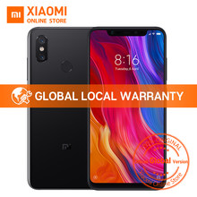 "Глобальная версия Xiaomi mi 8 6 GB 128 GB 6,21 ""полный Экран Snapdragon 845 Octa Core 20MP Фронтальная камера Face Unlock NFC mi 8 смартфон(China)"