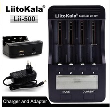 100% New Liitokala lii500 Smart Universal LCD LI-ion NiMh AA AAA 10440 14500 16340 17335 17500 18490 17670 18650 Battery Charger