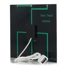 Wholesale! 50PCS/Lot Small Solar Cell Charger 3.5W 6V USB Solar Panel Charger Easy DIY Solar Applications Education Kits(China)
