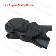Black Left Engine Stator Cover For Honda CRF50 XR50 50cc 70cc 90cc 110cc 125cc Dirt Pit Bike Motorcycle
