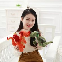 1pc 30cm Stuffed Animal Plush Dinosaur 3 Colors High Quality Exquisite Design Cartoon Popular Doll For Kid's Christmas Gift