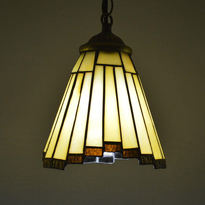 Tiffany Pendant Light Stained Glass European Style Dining Room Hanging Lamp E27 110 240V