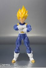 Datong SHF anime Dragon Ball Z OCE original color Vegeta Action Figure Model doll toy for Christmas gifts