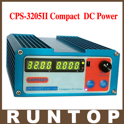 Newest CPS-3205II 0-30V-32V Adjustable DC Switching Power Supply 5A 160W SMPS Switchable AC 110V (95V-132V) / 220V (198V-264V)<br>