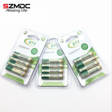 12 pcs X Best Rechargeable Battery AAA1350 4 X BTY NI-MH 1.2V Rechargeable aa battery rechargeable batteries For RC Toys Camera(China)
