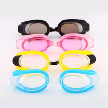 Swimming Glasses Children Adjustable Waterproof Anti Fog Goggles Outdoor Sports Swim Pool Eyewear Ear Plugs Nose Clip Kids Q107