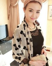 scarf chiffon shawl long scarves women pashmina shawl wrap Qiu dong joker leopard print scarf long scarves l 1pcs/lot SW37